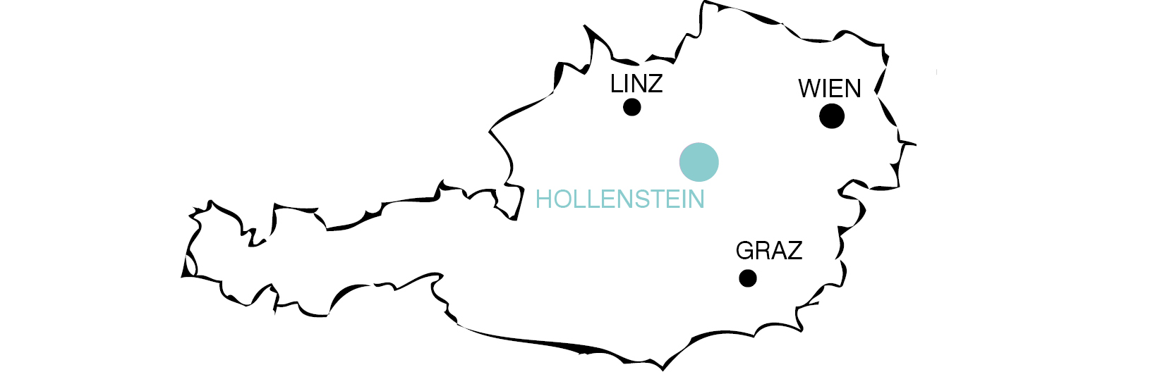 location on map of Austria